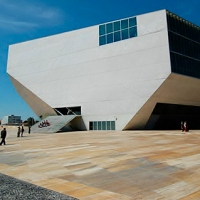 Casa da Musica | Rem Koolhaas: A meteorite fell from the sky